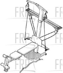 Pin Weider Max Exercise Manual How To Set Up The 160 Bench