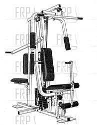 Osi 2200 Home Gym Manual