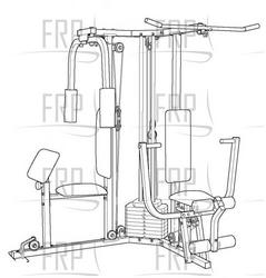 Weider 9635 Home Gym Manual