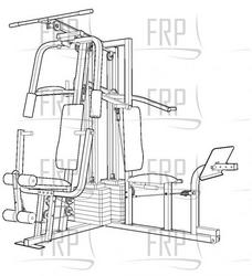 Weider Home Gym Cable Diagram, Weider, Free Engine Image