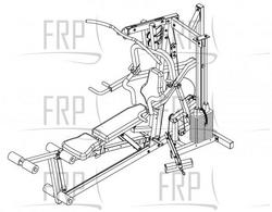 Pacific Fitness Solana Assembly Instructions