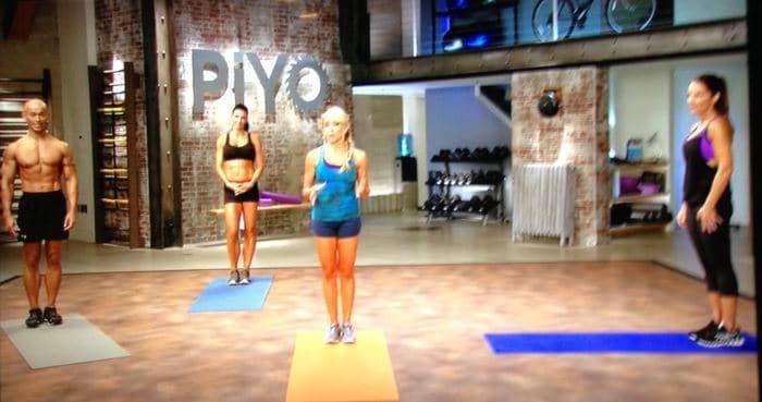 PiYO Define Lower Body DVD Exercise List April 2018