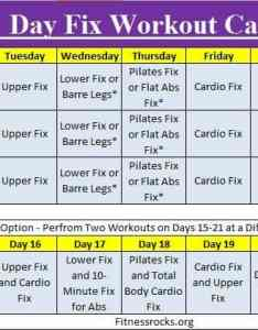 also autumn   day fix training schedule free downloadable february rh fitnessrocks