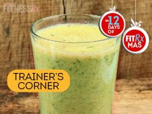 Holiday Detox Green Smoothie - A refreshing, post-indulgence pick-me-up!