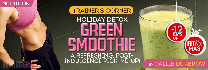 Holiday Detox Green Smoothie