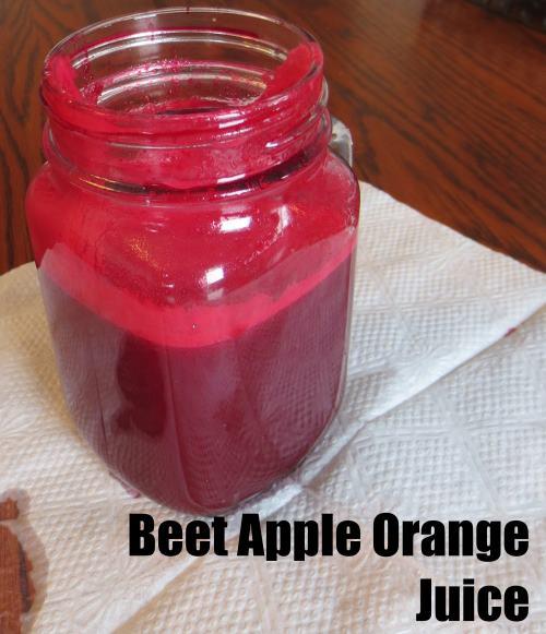 Beet Apple Orange Juice