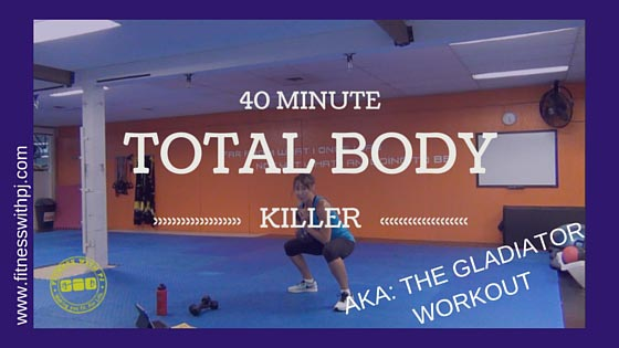 40-Minute Total Body Killer Workout
