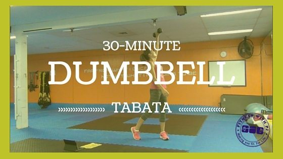 30-Minute Dumbbell Tabata