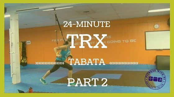 TRX Tabata Workout Part 2