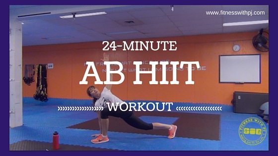 24-Minute Ab HIIT Workout