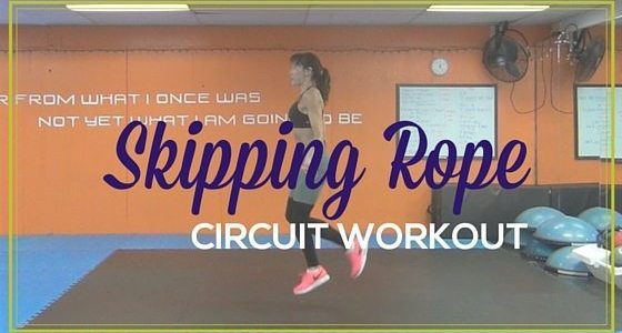 Skipping Rope Circuit Workout