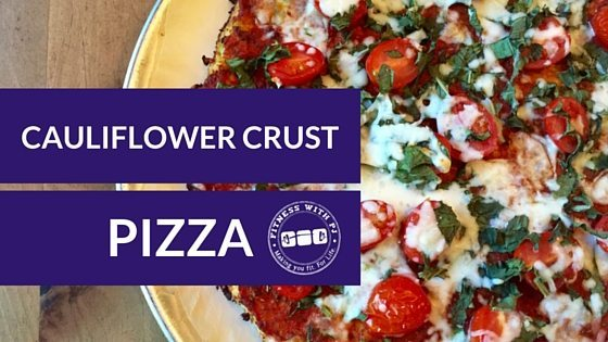 The Best Cauliflower Crust Pizza Recipe