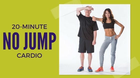 20-Minute No Jump Cardio Workout