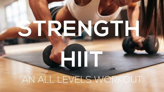 All Levels Strength HIIT