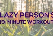 Lazy-Person-Workout