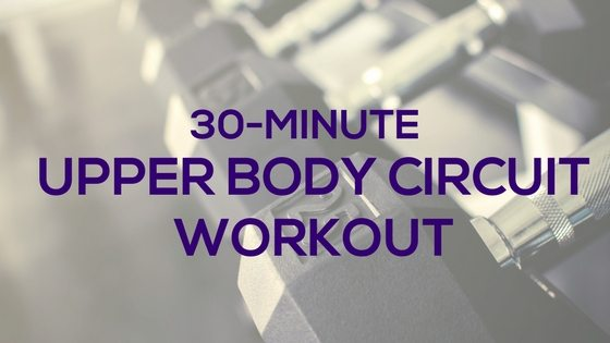 Upper body circuit workout, Fitness with PJ, for women