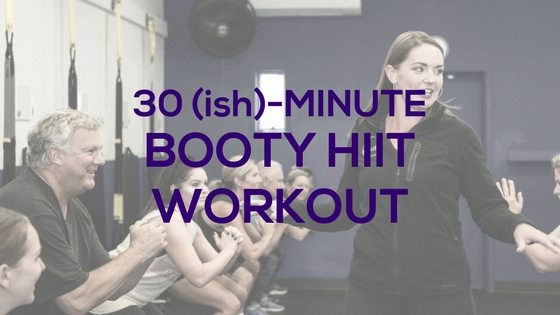 Booty HIIT Workout