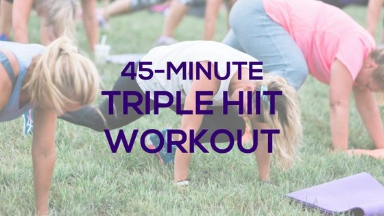 Triple HIIT Workout