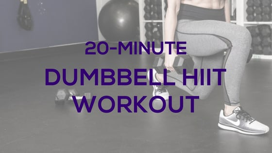 20-Minute Dumbbell HIIT