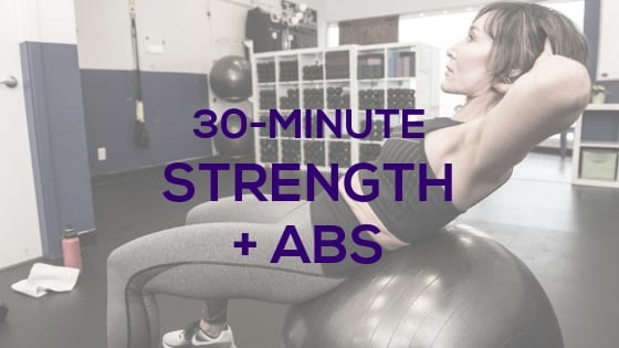 Strength + Abs Workout for Home