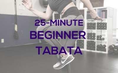 25-Minute Beginner Tabata