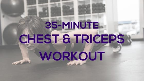 Chest & Triceps with Dumbbells