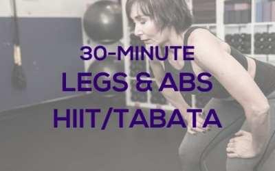 Legs & Abs HIIT