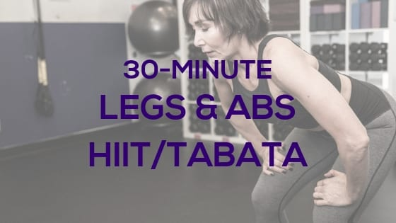 Legs & Abs HIIT