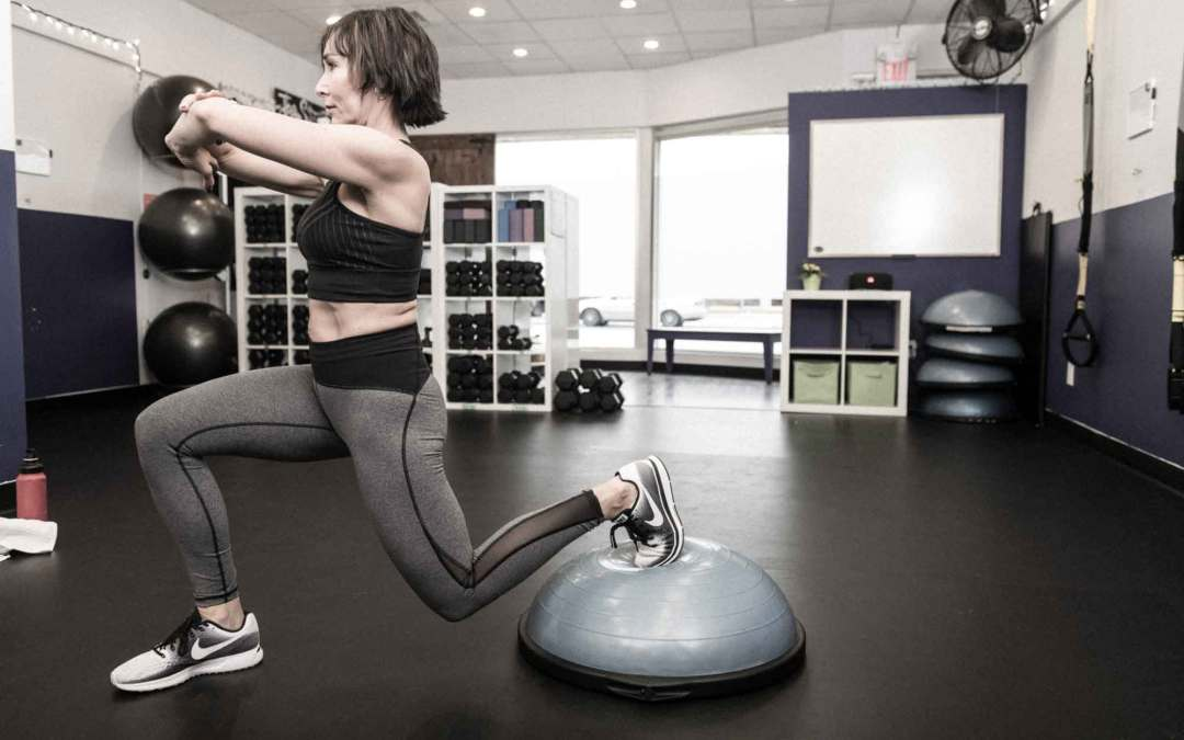 Full Body Strength Workout Using the BOSU