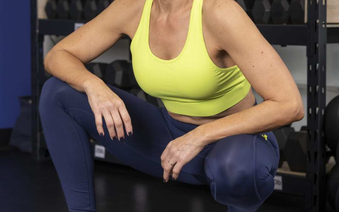 Upper Body & Cardio Intervals Using 1 Dumbbell for Home for Women Over 40