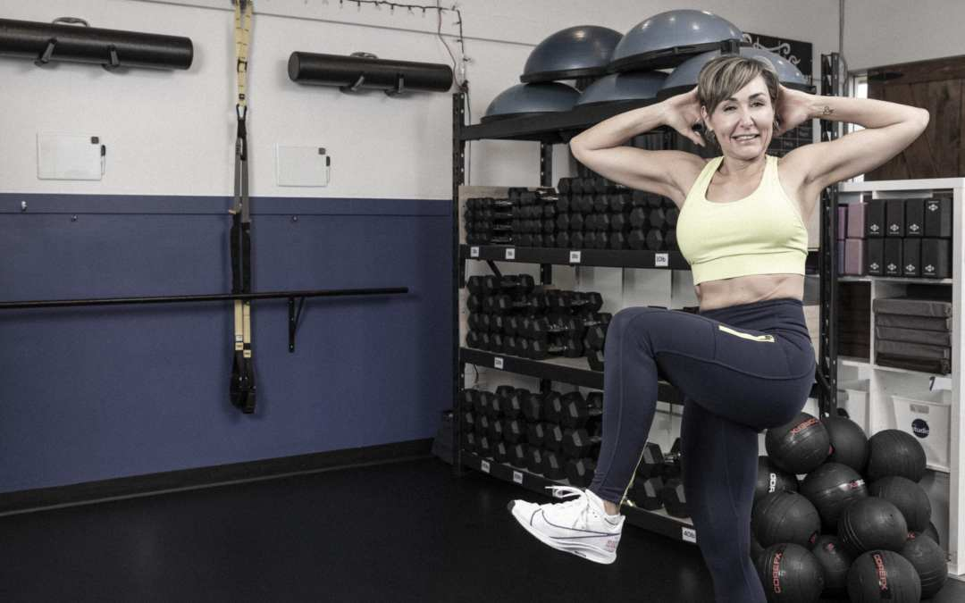 Standing Ab Workout for Women Over 40