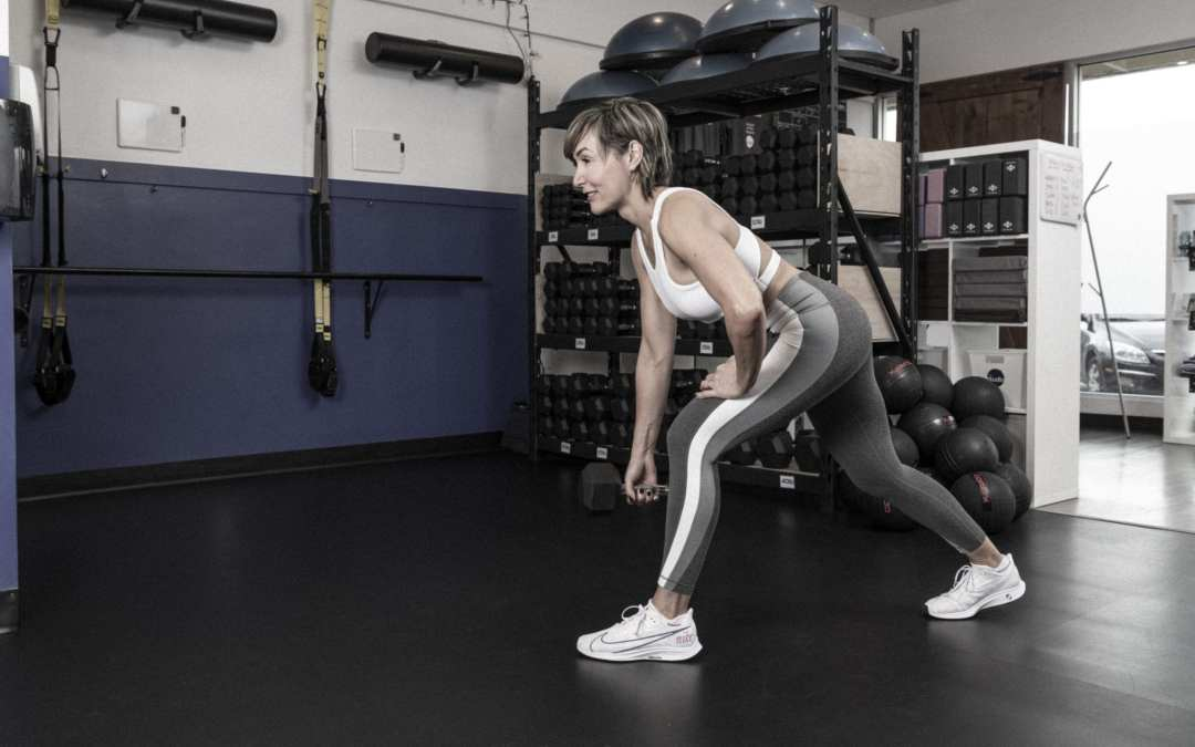 Back, Biceps and Abs Workout for Women Over 40