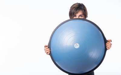 BOSU Ball Cardio Workout For Weight Loss for Women Over 40