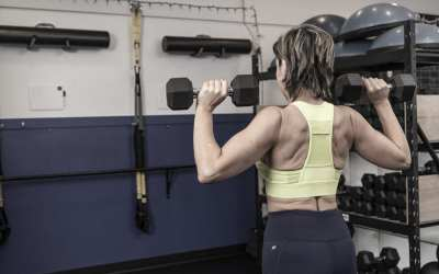 Shoulders & Triceps Workout with Dumbbells for Women Over 40  [PERFECT FOR HOME!]