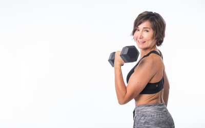Osteoporosis & Osteopenia Workout with Dumbbells [THAT'S NOT LAME!]