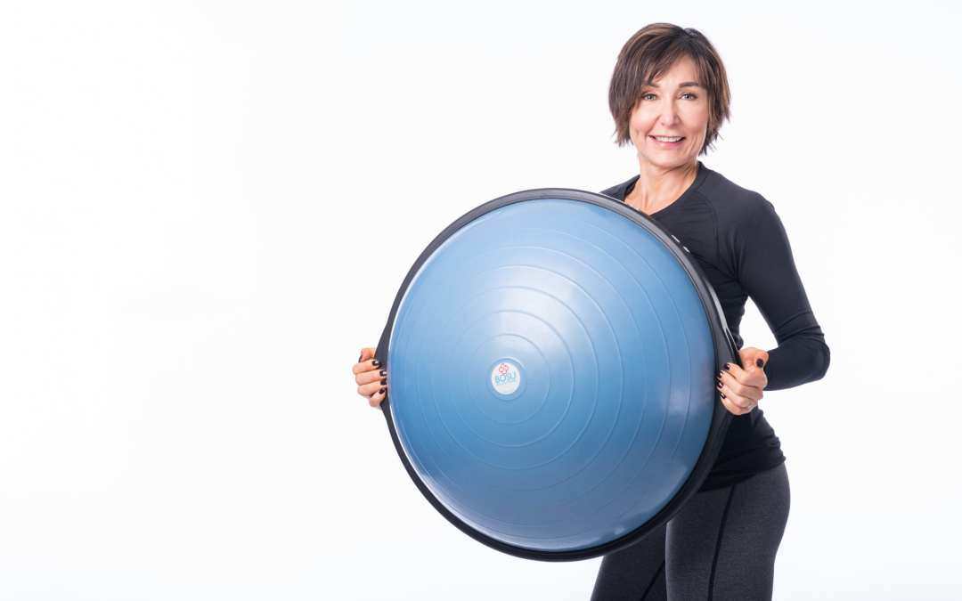 Total Body Workout with TRX, BOSU & Dumbbells for Women Over 40