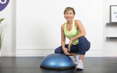 BOSU & Booty Band HIIT Workout for Women Over 40