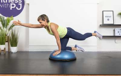 5-Min BOSU Ball Strong Abs Workout for Women Over 40