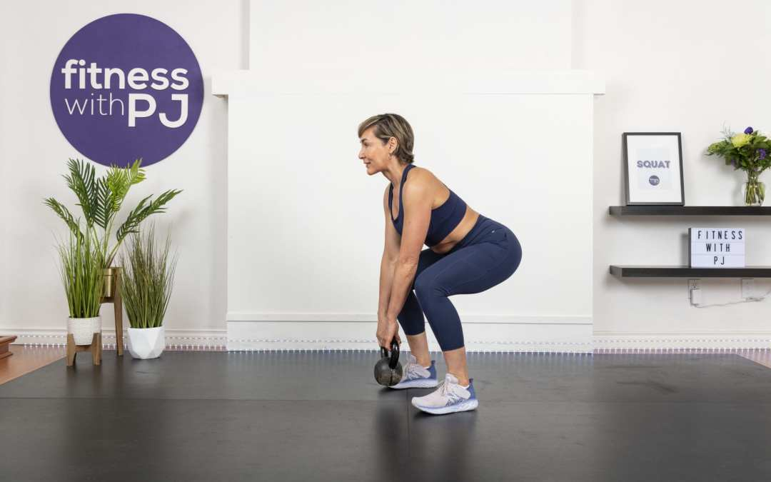 Lower Body & Abs Kettlebell Workout for Women Over 40