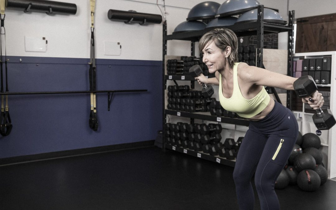 The Best Back & Biceps Workout with Dumbbells for Home For Women Over 40