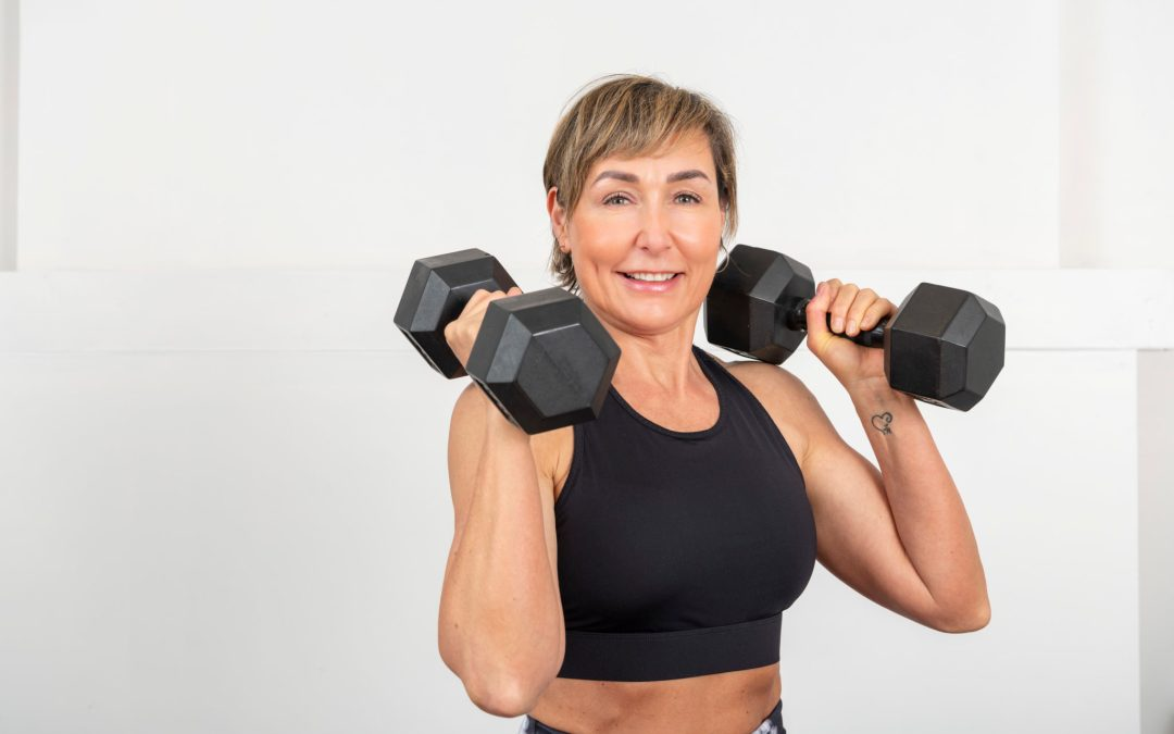 Intense Dumbbell Met-Con Workout for Women Over 40 | All Levels