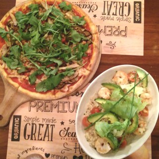 BYO Pizza  Quinoa Salad - I