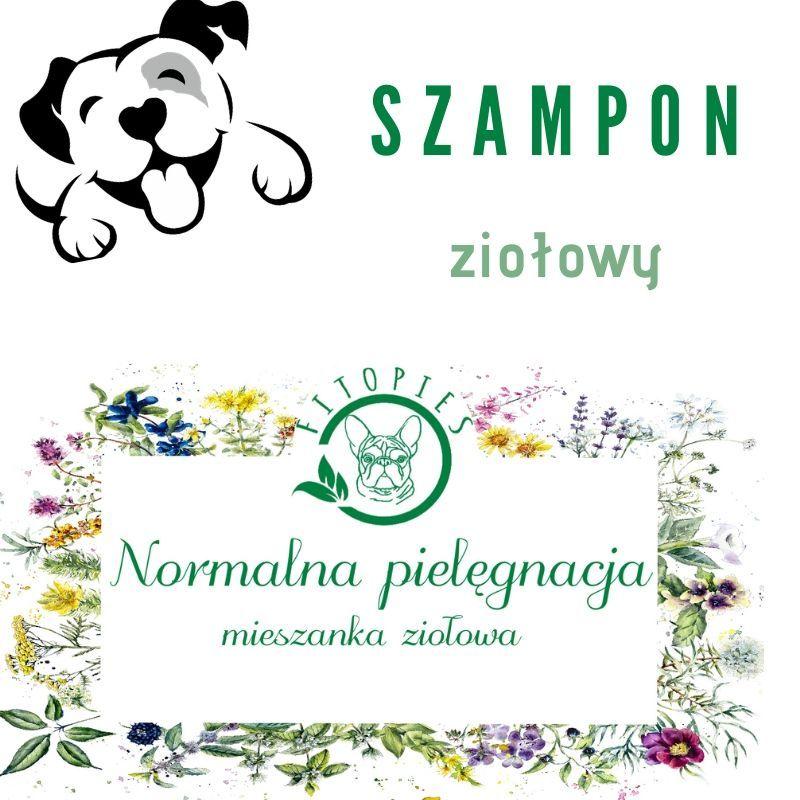ziołowy szampon dla psa