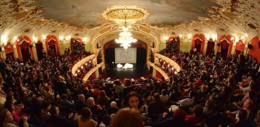 Teatrul Național – Filit Iași 2019 © foto https://www.facebook.com/filit.iasi