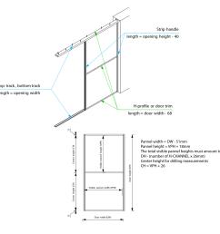 interline sliding door system door trim sliding door lock diagram interline sliding door interline assembly diagram [ 1200 x 1195 Pixel ]