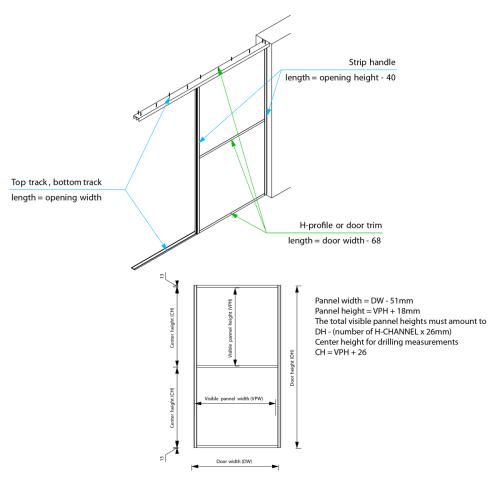 small resolution of interline sliding door system door trim sliding door lock diagram interline sliding door interline assembly diagram