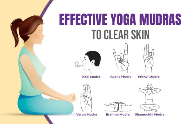 mudra for skin problems and glow skin