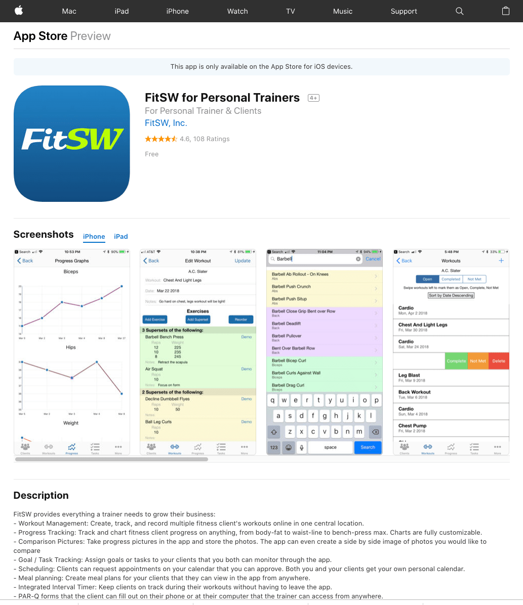 Update your iOS and Android Apps to the Latest Versions - FitSW Blog