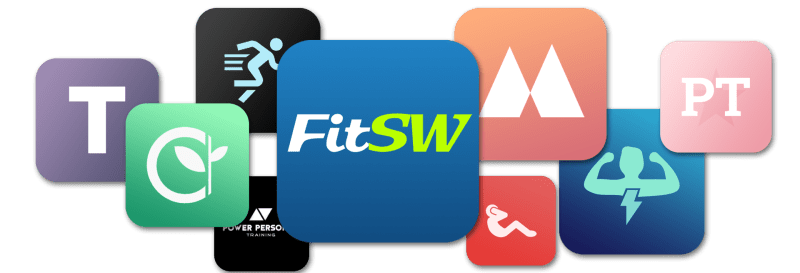 Custom Branded Fitness App allows you to have your very own logo app icon.