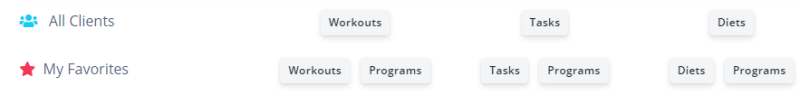 where to find the workout program feature on fitsw personal trainer software website